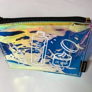New Macy's Holographic Cosmetic Pouch